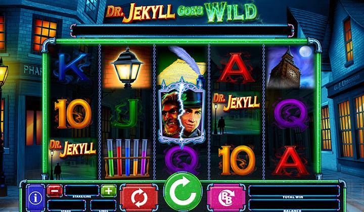Dr jekyll goes wild slot demo play