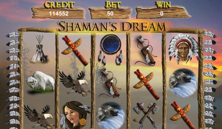 Shaman's Dream Jackpot Demo Image