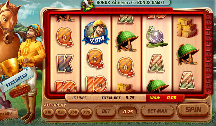 Jackpot Jockey Demo Image